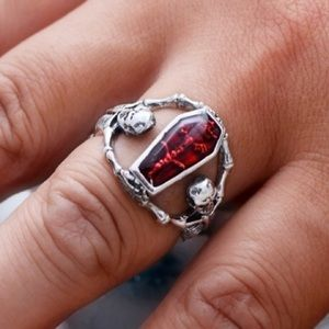 Other - Men's titanium steel vampire ring